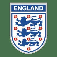 Escudo da seleção de futebol da Inglaterra.