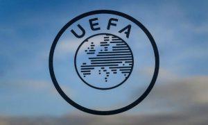UEFA – União das Federações Europeias de Futebol.