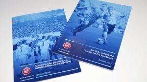 Manual de regulamentos do Fair Play Financeiro de 2012 e 2014.