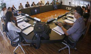 Primeira reunião do Comitê de Reforma da CBF.