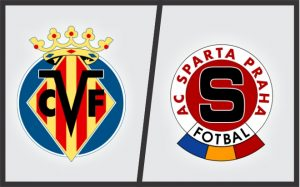 Escudos: Villarreal (Espanha) e Sparta Praga (República Tcheca).