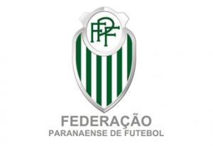 Logo da Federação Paranaense de Futebol.