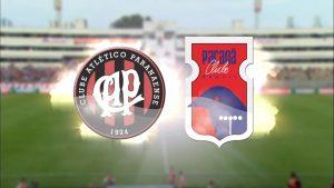 Escudo do Atlético Paranaense e do Paraná Clube.