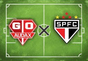 Escudos do Audax-SP e São Paulo.