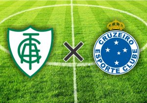 Escudos do América-MG x Cruzeiro.