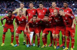 Bayern campeão da Liga dos Campeões 2012/13.