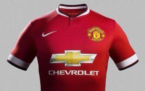 Camisa do Manchester United (Chevrolet/Nike).