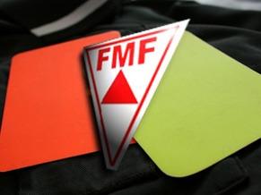 Escudos da Federação Mineira de Futebol (FMF).