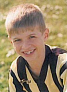 Thomas Muller em seu primeiro time, o TSV Pahl.