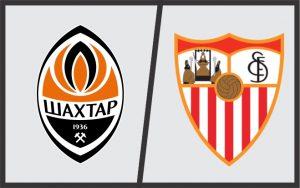 Shakhtar Donetsk x Sevilla.