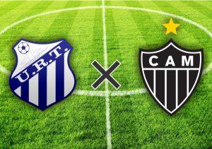 Escudos do URT e Atlético-MG.