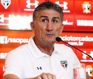 Edgardo Bauza, técnico do São Paulo.