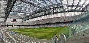 Arena Atlético Paranaense, casa do melhor mandante do primeiro turno.