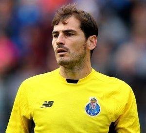 Casillas participará da sua 18ª Liga dos Campeões.