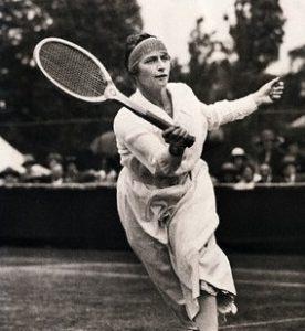 Kathleen McKane é a maior medalhista da história do tênis olímpico.