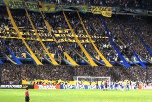 Estádio La Bombonera, Torcida do Boca Juniors no Estádio La Bombonera.