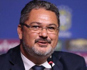 Rogério Micale é o treinador da seleção olímpica e sub-20 do Brasil.