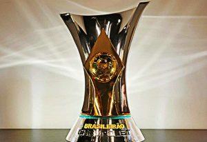 Taça que será entregue ao campeão do brasileirão 2016.