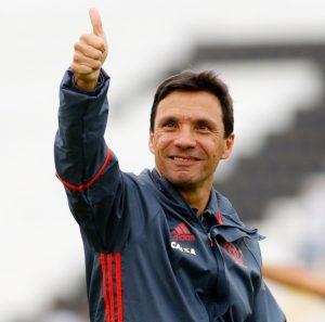 Zé Ricardo, técnico do Flamengo.