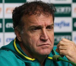 Cuca, atual técnico do Palmeiras.