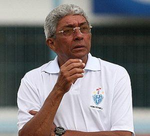 Givanildo Oliveira na época que era treinador do Paysandu.