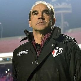 Ricardo Gomes, atual técnico do São Paulo FC.