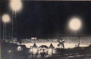 Inauguração do primeiro sistema de iluminação (1931).