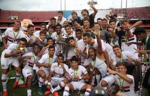 São Paulo, atual campeão da Copa do Brasil Sub-20.