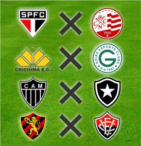 Quatro dos oito confrontos das oitavas de final da Copa do Brasil Sub-20 2016.