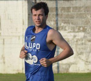 Daniel Paulista quando defendia o ABC como jogador.