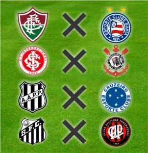 Outros quatro confrontos das oitavas de final da Copa do Brasil Sub-20 2016.