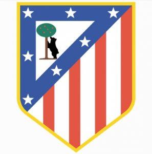 Escudo do Club Atlético de Madrid.