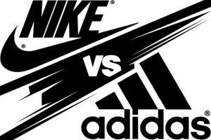Nike a Adidas são grande rivais no mercado de patrocínio de clubes no futebol.