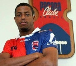 Keno quando passou pelo Paraná Clube.