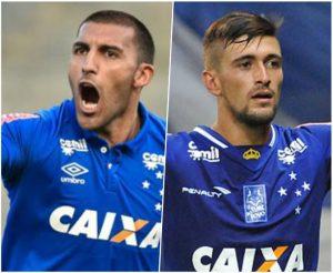 Ábila e Arrascaeta, principais responsáveis pelos gols do Cruzeiro no brasileiro 2016.