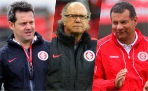 Argel Fucks, Falcão e Celso Roth, três técnicos do Internacional somente em 2016
