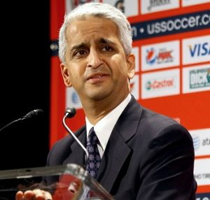 Sunil Gulati , presidente da Federação de Futebol dos EUA.