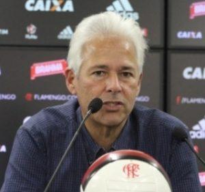 Flávio Godinho, vice-presidente de futebol do Flamengo.