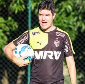 Diogo Giacomini, técnico interino do Atlético Mineiro.