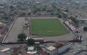 Estádio Antônio Accioly, casa do Clube Atlético Goianiense.