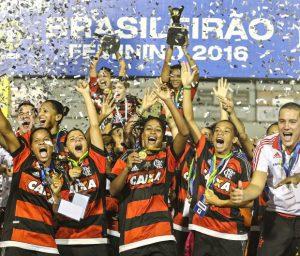 Flamengo, atual campeão brasileiro.