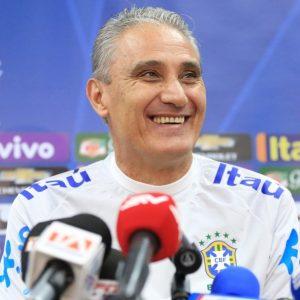 Tite, atual técnico da seleção brasileira.