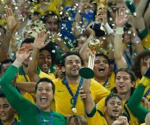 Brasil conquistou a Copa das Confederações de 2013, no Brasil.