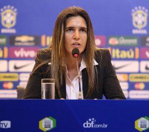 Emily Lima, nova treinadora da seleção brasileira feminina.