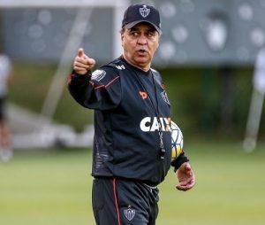 Marcelo Oliveira como treinador do Atlético.