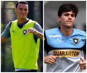 Zagueiros Emerson Silva e Igor Rabello.