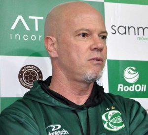 Zago como treinador do Juventude.