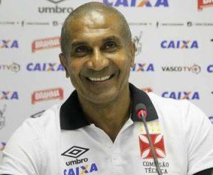 Cristóvão Borges em sua apresentação pelo Vasco.