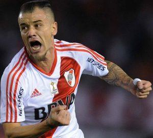 D'Alessandro jogando pelo River Plate em 2016.