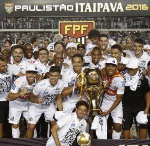 O Santos foi campeão Paulista de 2016.